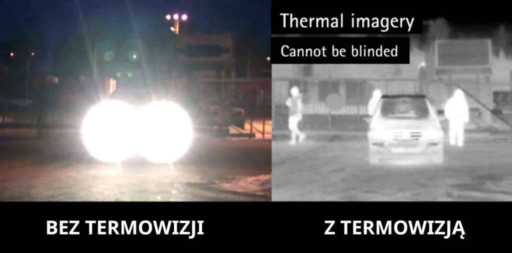 Porównanie kamery termowizyjnej